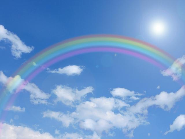 Over The Rainbowを聴きながら